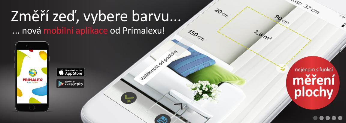 PRIMALEX mobilní aplikace